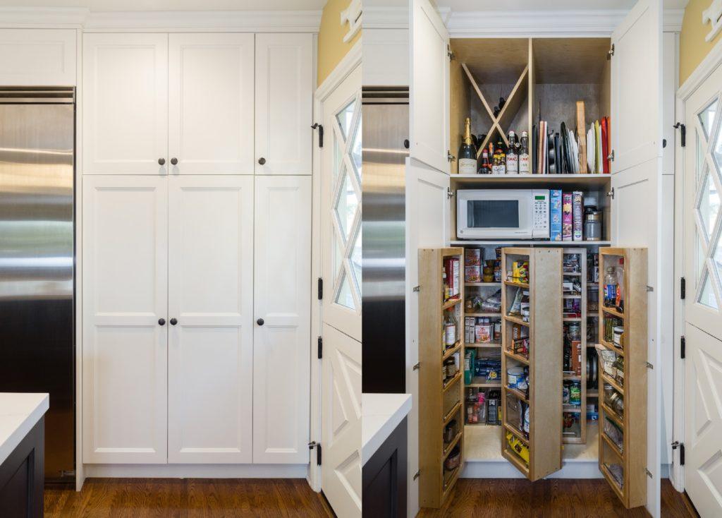 Merit Kitchens Design Custom Pantry Cabinets Langley